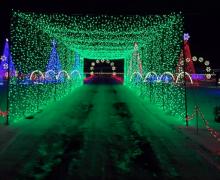 Este mágico festival drive-thru de luces navideñas llegará el próximo mes a Ontario