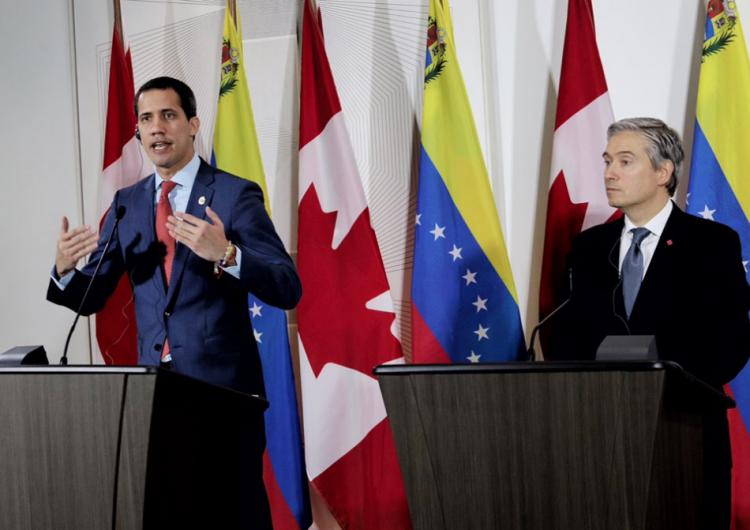 Juan Guaidó visitó Canadá esta semana para reforzar ayuda internacional en Venezuela