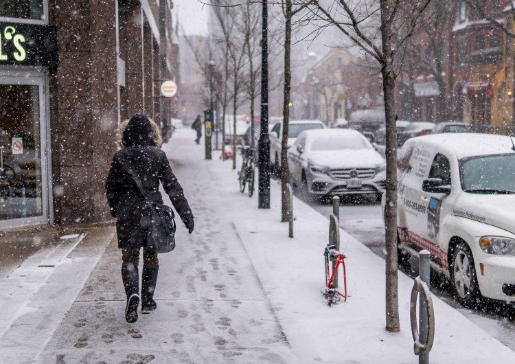 Se esperan hasta 15 cm de nieve para esta semana en Toronto