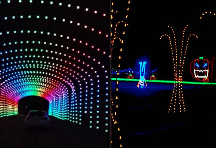 ¡No te pierdas este espectáculo de luces de Halloween drive-thru cerca de Toronto!